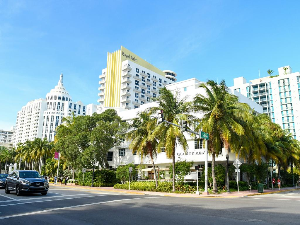 Royal Palm Hotel in Miami Beach